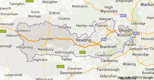 home moving removals storage berkshire map